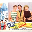 Elvis Presley Girls! Girls! Girls! U.S. Lobby Cards Full Set of 8 1962