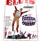 Elvis Presley Frankie and Johnny U.S. One-Sheet Film Poster 1966