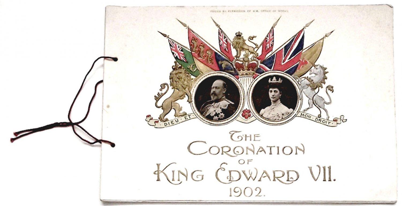 King Edward VII Coronation Programme 1902