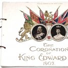 King Edward VII Coronation Programme 1902