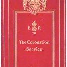 King Edward VII Coronation Service Programme in Original Leather Binding 1902