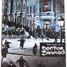 Doctor Zhivago Starring Omar Sharif, Julie Christie and Geraldine Chaplin Film Programme 1965