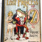 L. Frank Baum The Lost Princess of Oz circa 1929