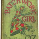 L. Frank Baum The Patchwork Girl of Oz Rare First Edition, First State 1913