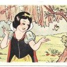 De Beukelaer Walt Disney Snow White Complete Set of 100 Trading Cards 1940