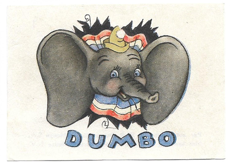 De Beukelaer Walt Disney Dumbo Complete Set of 125 Trading Cards circa 1940