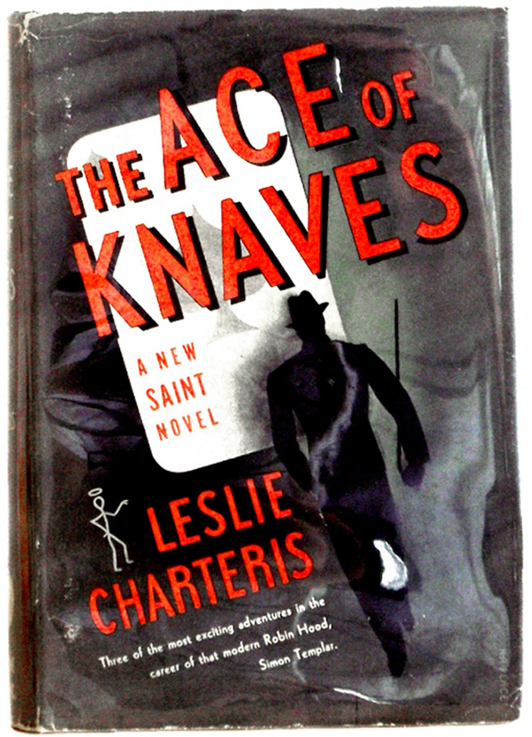 Leslie Charteris Book The Ace of Knaves U.S. First Edition 1937