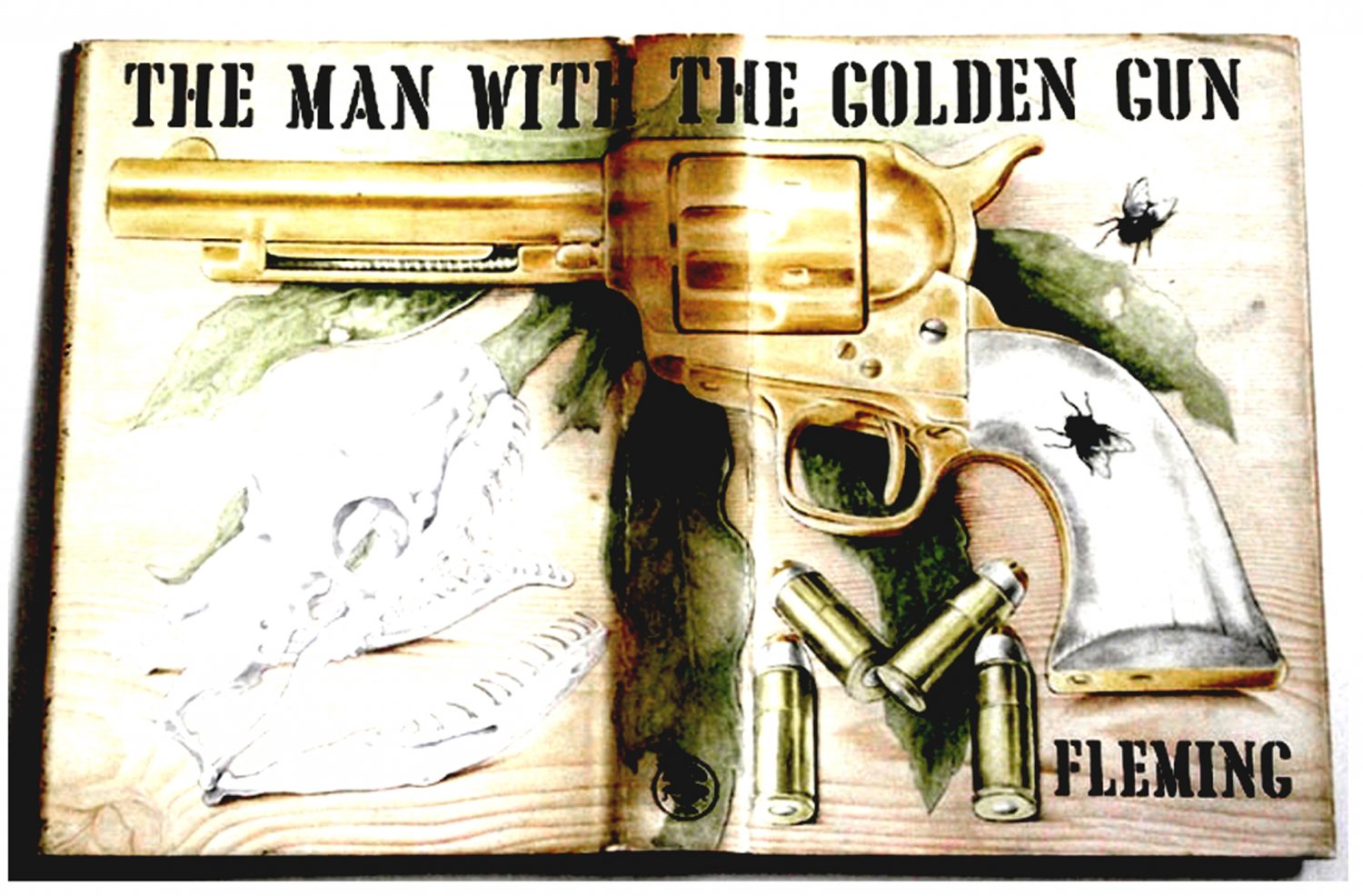 Ian Fleming The Man With The Golden Gun First Edition 1965