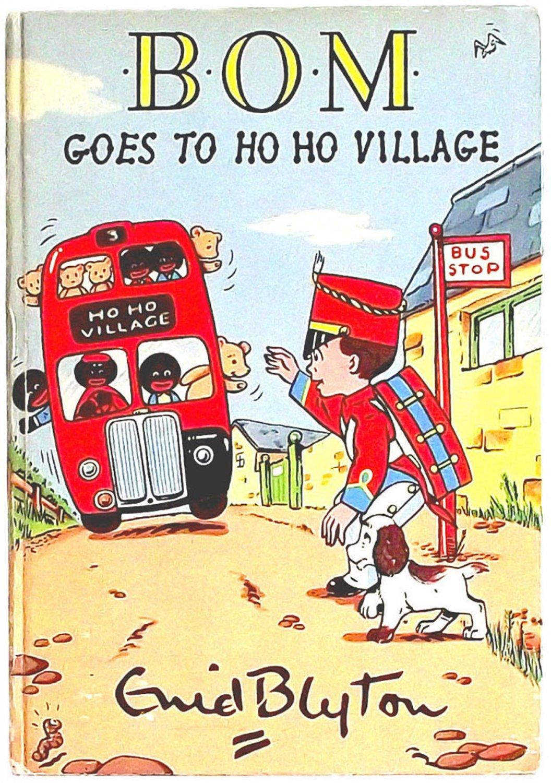 Enid Blyton Bom Goes to Ho Ho Village First Edition 1958