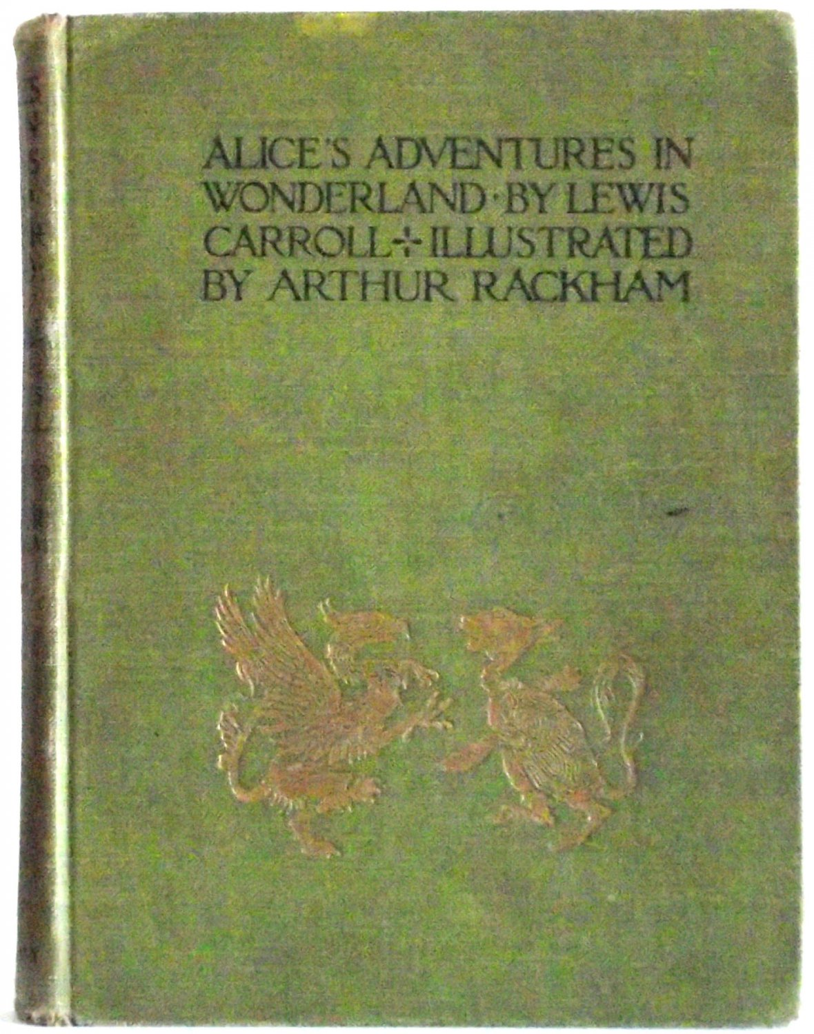 Lewis Carroll Alice�s Adventures In Wonderland Illustrated by Arthur Rackham First Edition 1907