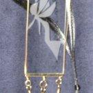 Fairy Pendant (Gold/Black)