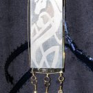 Horse Pendant (Silver/Blue)