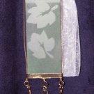 Leaf Pendant (Gold/Green)