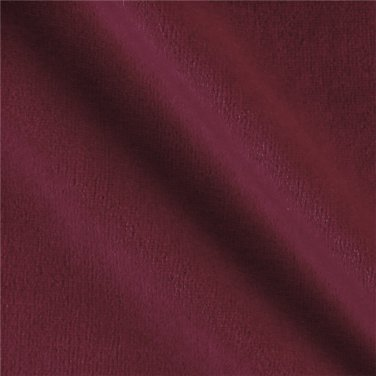 """Brick Red Polyester Velour Fabric 60"""" wide x 4.75 Yards"""