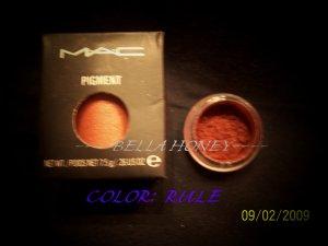 MAC PIGMENT SAMPLE *RULE*