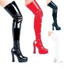 Stratch Thigh High Boots