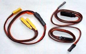 RC Servo EXTENSIONS & Y HARNESS JR Hitec HD 22awg Wire