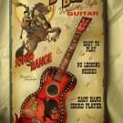 Bronco Boy Guitars WEATHERED-LOOK TIN SIGN