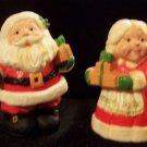 Hallmark Santa & Mrs. Santa Salt & Pepper Shakers