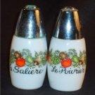 Vintage Corning Corelle Salt & Pepper Shaker Set