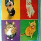 """5"""" x 7"""" Cat Address Book - New"""