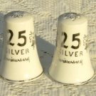 25th Anniversary Salt & Pepper Shakers JAPAN