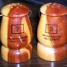 Vintage Wood Lantern Salt & pepper Shaker