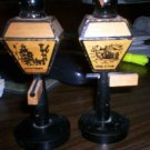 "Wooden Lamp Post Salt & Pepper Shaker ""San Francisco"""