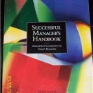 SUCCESSFUL MANAGERS HANDBOOK DEVELOPMENT SUGGESTIONS
