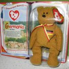Ty Teenie Beanies Germania the Bear - Beanie Babies