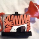 Vintage Plastic Tony The Tiger Salt & Pepper w/Napkin holder
