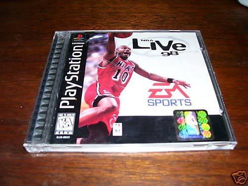 NBA Live '98 (Playstation) complete
