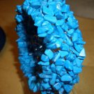 GORGEOUS GENUINE BLUE TURQUOISE BRACELET
