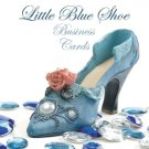 250 Little Blue Shoe Business Cards