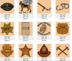 21  Fire & Police Designs