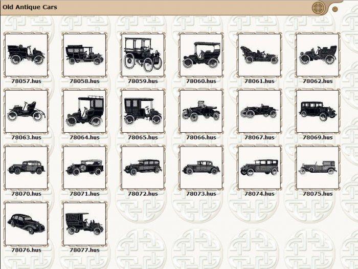 20 Old Antique Old Cars