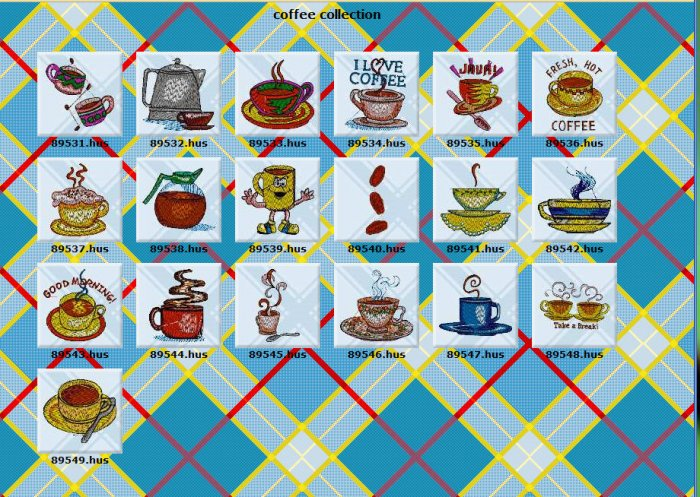 Coffee Collection design pack