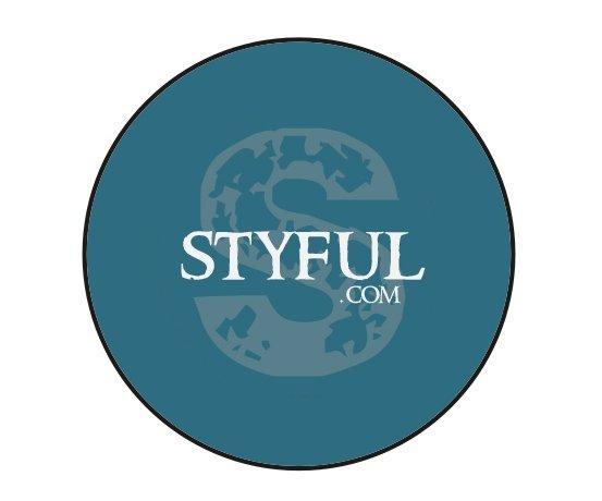 Blue Styful Button