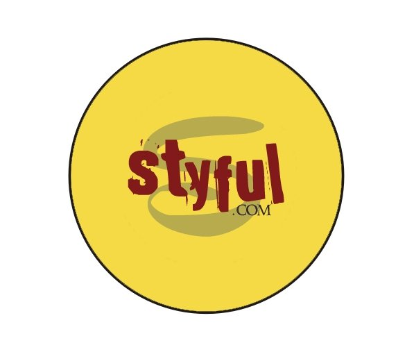 Yellow Styful Button