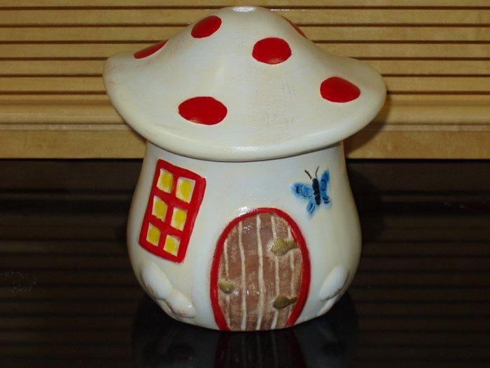 Ceramic Mushroom House For Your Garden Decor