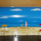 Handpainted Mailbox Hand Painted Mailboxes Children's Beach Scene 04