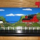 Handpainted Mailbox Barnyard w/Horse Scene Hand Painted Mailboxes