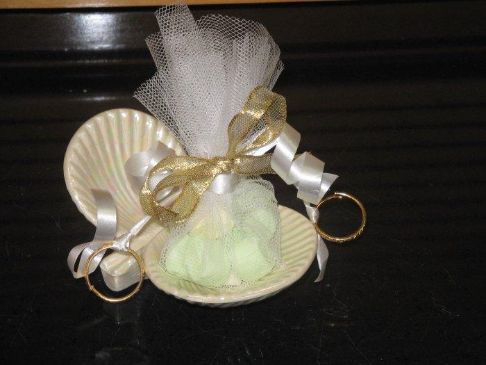 Sea Shell Wedding Shower Favor Candy Mint Filled
