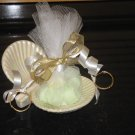 Sea Shell Wedding Shower Favor Candy Mint Filled