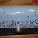 Dragonfly Floral Design Mailbox Dragonflies Hand Painted Mailboxes