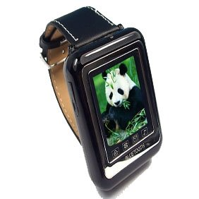 """Thinnest 1.3"""" Screen Music Cell Phone Watch with Bluetooth Earphone"""