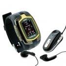 Dual SIM Card Tri-band Bluetooth Cell Phone Watch M860