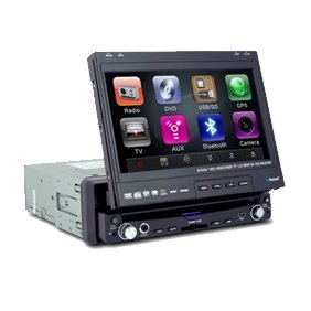 1 Din IN-DASH 7 INCH TFT WIDESCREEN Car DVD Player 8013BL  without GPS