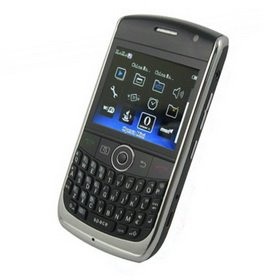 Black FLY-YING F020 Quad Band Dual Card TV Cell Phone With Qwerty Keyboard