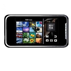 3.0 Inch 2GB Touch Screen MP4 Player with FM Radio